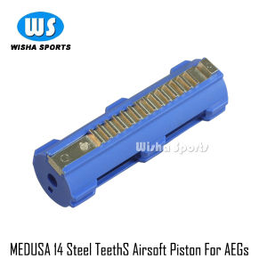 Medusa Airsoft Full Teeths 14 Steel Teeths High Speed Airsoft Aegs Piston pictures & photos