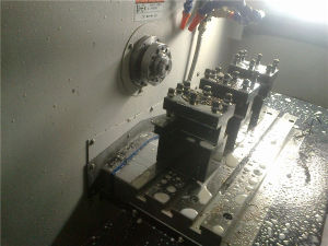 China Zhejiang Small Metal CNC Lathe (CK30/CK6130) pictures & photos