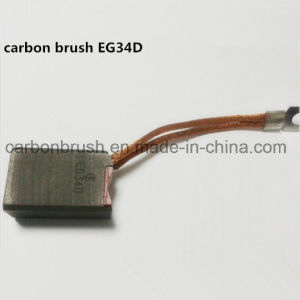 Alternator Electric Carbon Brushes for Electric Machinery EG34D pictures & photos
