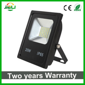 Wholesale 20W SMD5730 Black Slim Floodlight LED pictures & photos