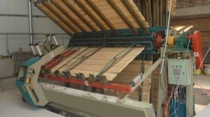 Hydraulic Woodworking Composer with Track Movement Type pictures & photos