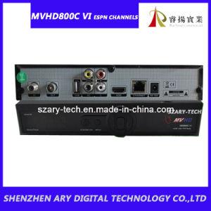 Singapore HD Cable Recever MVHD800C VI Watch Espn Channels