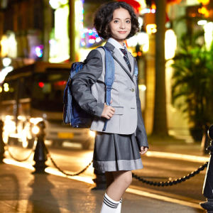 Customized Children′s School Uniform Blazer Coat pictures & photos
