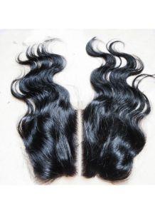 Three Way Part Closure 5X5 Body Wave Virgin Malaysian Human Hair 3 Part Lace Closure pictures & photos