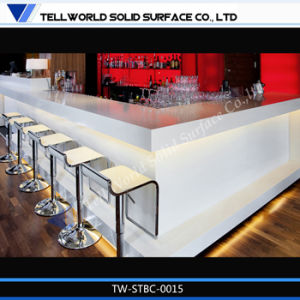 Corian Acrylic Solid Surface Classic Design Bar Counter pictures & photos