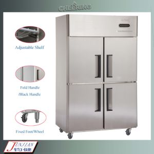 Cheering Commercial Upright Freezer for Kitchen pictures & photos