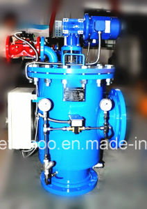 Industrial Automatic Self Cleaning Brush Water Filter pictures & photos