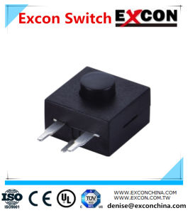 Electrical Flashlight Tact Switch Excon Ts203-31-2-B pictures & photos