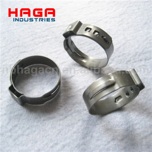 Stainless Steel Singe Ear Stepless Clamp pictures & photos