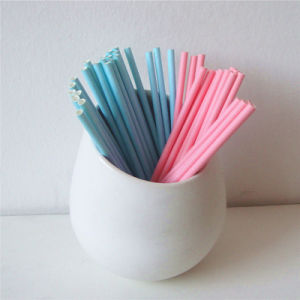 Blue Pink Green Color 100% Eco-Friendly Paper Drinking Straw pictures & photos