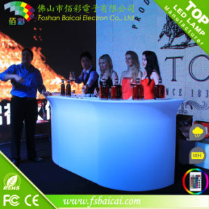 Modern Bar Counter with LED Light