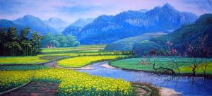 Hand Painted Taiwan Landscape Oil Painting pictures & photos