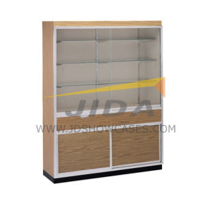 Retail Shop Wall Display Case with Drawer