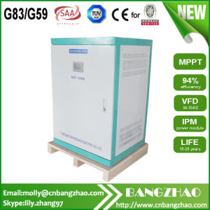 Sine Wave Output 220V to 380V 30kw Phase Voltage Invertor pictures & photos
