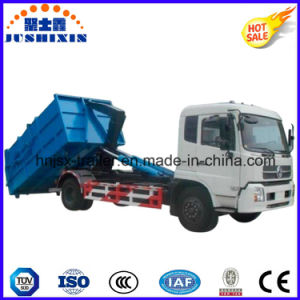 High Quality Dongfeng Hook Arm Garbage Truck 190HP 4*2 Export to Africa pictures & photos