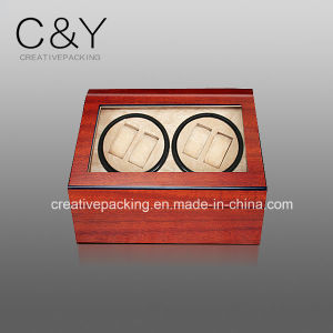 4+6 Cherry Wood Automatic Rotating Watch Winder pictures & photos