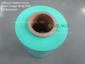 Best Strong Anti-UV Green Silage Wrap Foil pictures & photos