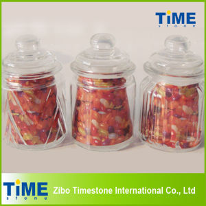 Glass Storage Jar with Glass Lid (15031803) pictures & photos