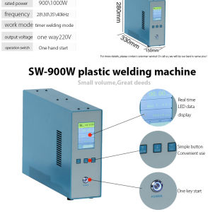 Chinese Microcomputer PLC Ultrasonic Plastic Welding Machine pictures & photos