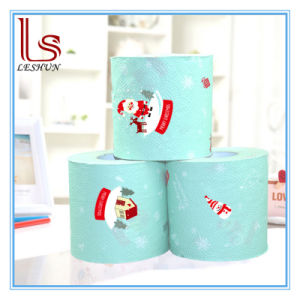 Wholesale Christmas Creative Arts Printing Household Paper, Toilet Paper Tissue Napkin pictures & photos