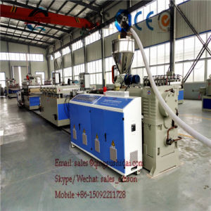 PVC Board Machine PVC Sheet Machine Waterproof PVC Plastic Advertising Board Making Machine pictures & photos