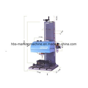 Label Make Pneumatic Marking Machine From Hbs pictures & photos