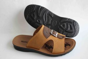 New Design for Men Beach Sandal with Leather Upper (SNB-14-009) pictures & photos