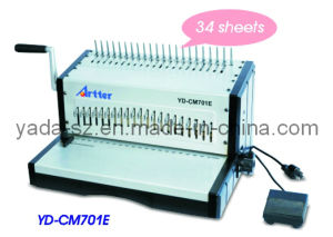 Comb Binding Machine YD-CM701E pictures & photos