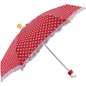 5 Folding Mini Umbrella with Pouch (YS-5F1002A) pictures & photos