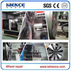 Alloy Wheel Cutting Repair CNC Turning Lathe Awr28h pictures & photos