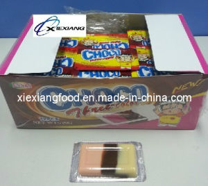 Choco Three Color 10g Chocolate Products with Strawberry Chocolate and Milk Three Flavors pictures & photos