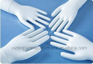 High Quality Good Price Powder Free Disposable Latex Examination Gloves pictures & photos