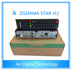 Zgemma-Star H2 Combo DVB S2 T2 Satellite TV Receiver pictures & photos