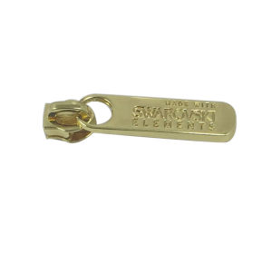 Custom Made Gold Plated Metal Zipper Pull Zipper Slider pictures & photos