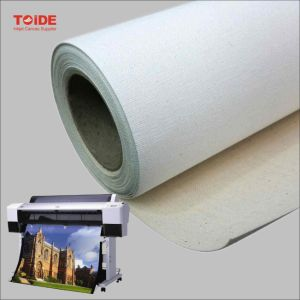"Good Quality Eco Solvent Polyester Canvas 36""*18m pictures & photos"