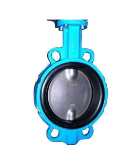 Wafer Butterfly Valve Ductile Iron Body Machining Per OEM Requirement pictures & photos