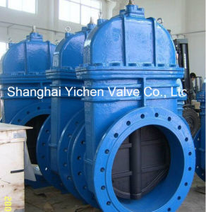 DIN/BS Standard Cast Iron Gate Valve (Z45X) pictures & photos
