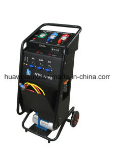 Semi-Automatically A/C Refrigerant Recovery Machine pictures & photos