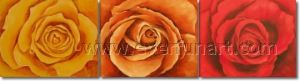 New Design Popular Rose Oil Painting (FL3-214) pictures & photos