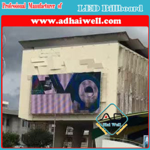 Wall Mounted P10 Full Color LED Display Curve Outdoor Advertising pictures & photos