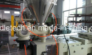 PVC Pipe and Tube Twin Screw Parallel Extruder pictures & photos