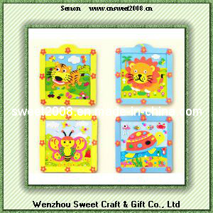 Cartoon Cute EVA /3D Cartoon Animal Shape EVA Sticker pictures & photos