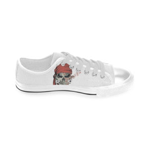 Style No Custom Sneaker 026 Low Cut Print Unisex Canvas Casual Shoes Custom Canvas Sneakers pictures & photos
