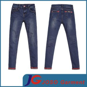 Women Casual Curvy Skinny Denim Jean (JC1320) pictures & photos