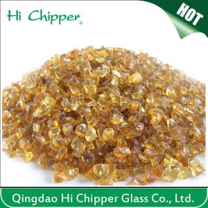 Amber Glass Chips pictures & photos