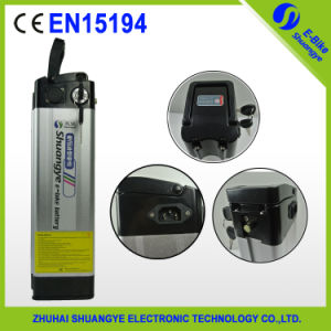 Shuangye Electric Bike Li-ion Rechargeable Power Battery pictures & photos