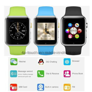 Newest Bluetooth Smart Watch Phone with 1.54′′ Touch Screen (A1) pictures & photos