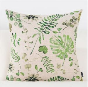 Linen Feeling Vintage Style Decorative Pillows pictures & photos