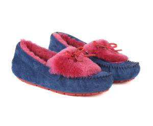 Hot Selling Dakota Moccasin Sheepskin Shoes