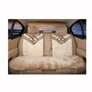 Universal Fit Fur Sheepskin Car Seat Cover pictures & photos
